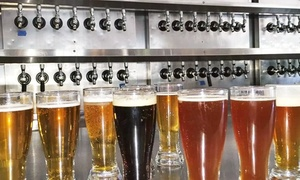 Power Club Restauant & Brewery: Craft Microbrews for Two or Four at The Power Club Restaurant & Brewery (50% Off)