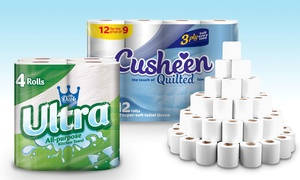 Toilet Tissues + Kitchen Towels