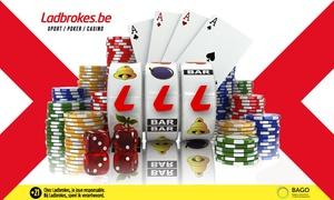 Ladbrokes: Un bon d'achat de 50 € ou 75 € à miser sur le site Ladbrokes.be dès 5 €