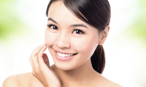 Kelley's About Face: Ultrasonic Anti-Aging Facial with Option for Skincare Starter Kit at Kelley's About Face (Up to 51% Off)