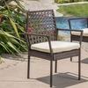 Parker Wicker Outdoor Dining Chair Set (2-Piece)