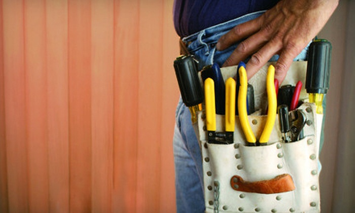 We Do That!!! - St Louis: 2, 4, or 10 Man-Hours of Handyman Services from We Do That!!! (Up to 57% Off)