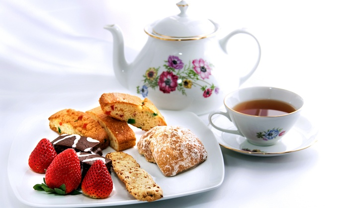 Queen's Bakery - Costa Mesa: High Tea for Two or Four at Queen's Bakery (56% Off)