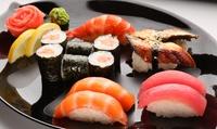 Menú japonés para 2 o 4 para llevar o a domicilio con 40 u 80 piezas de sushi y bebida desde 19,95 € en Kyoza Asian Food