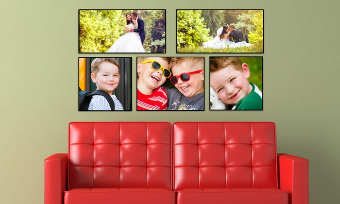 "Picture It On Canvas: One 11""x11"", 11""x14"", or 9""x18"" Custom Wood Wall Panel from Picture It On Canvas (65% Off). Free Shipping."