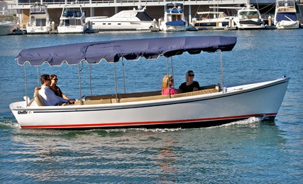 Three-Hour Weekday Boat Rental (a $158 value) - Duffy Electric Boats of Lake Norman in Davidson