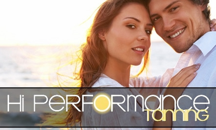 Hi Performance Tanning - Lawrence: $20 for $45 Worth of Spray Tanning and More at Hi Performance Tanning