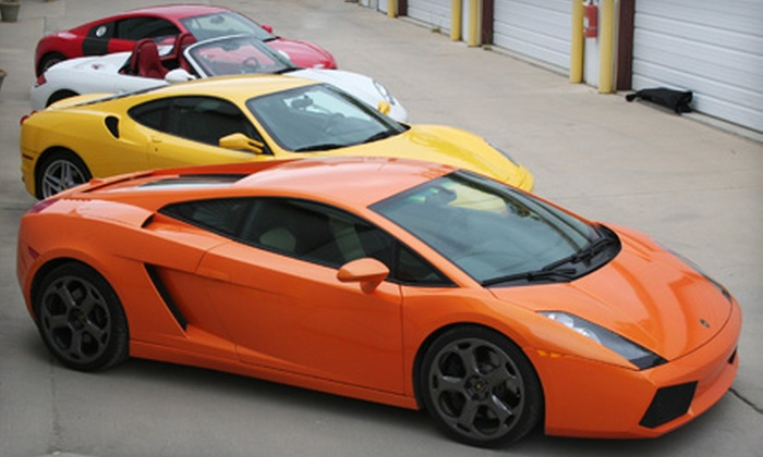DFW Drive Your Dream - Haltom City: $259 for a Two-Hour Speed Tour in Four Exotic Cars from DFW Drive Your Dream ($597 Value)