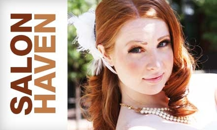 Salon Haven - Red Bank: Salon Services at Salon Haven. Choose Between Two Options.