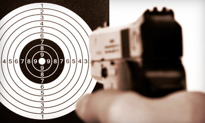 A & S Indoor Pistol Range - Youngwood: Shooting-Range Package for Two With Option for Instruction at A & S Indoor Pistol Range in Youngwood (Half Off)