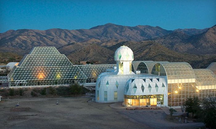 Biosphere 2 - University of Arizona Biosphere 2: Visit for Two or a Family Membership to Biosphere 2 (Up to 53% Off)