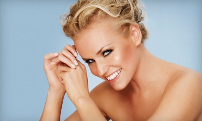 Always Tan & Skin Care Center - Lubbock: $45 for Bleach Bright Teeth Whitening at Always Tan & Skin Care Center ($99 Value)