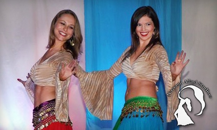 Nazeem Allayl Belly Dance Studio - Multiple Locations: $25 for Six Female-Only Classes at Nazeem Allayl Belly Dance Studio