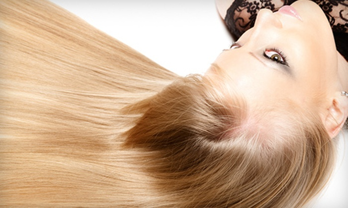 Elena Echeverry Hairdressing - Vickery Place: $135 for Keratin Hair-Smoothing Treatment at Elena Echeverry Hairdressing (Up to $350 Value)