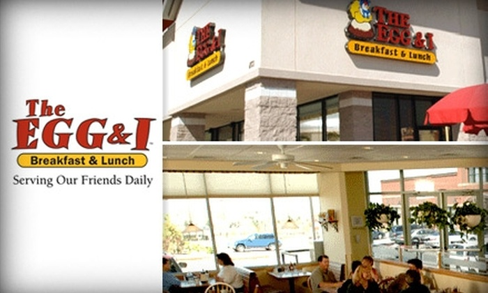 The Egg and I Restaurant - Dallas: $10 for $20 Worth of Delectable Breakfast or Lunch Fare at The Egg & I Restaurant