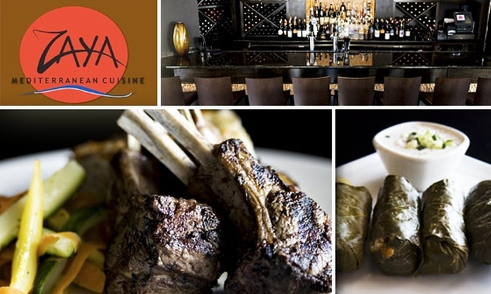 Zaya Mediterranean Cuisine - Inman Park: $15 for $35 Worth of Mediterranean Cuisine at Zaya