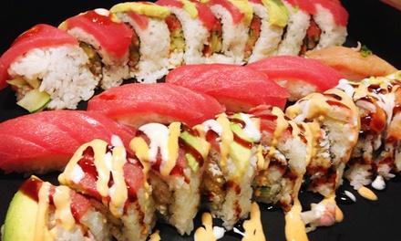 $12 for $20 Worth of Sushi, Teriyaki, and Sake at Happy Teriyaki #4