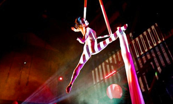 Mardi Gras Party presented by Emerald City Trapeze Arts - Industrial District East: $17 for Outing to Emerald City Trapeze Arts' Mardi Gras Party at the Aerialdrome on March 2 at 9 p.m. ($35 Value)