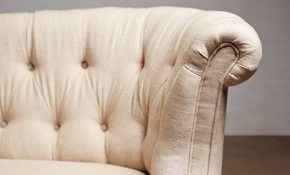 image for $79 for Sofa <strong>Upholstery Cleaning</strong> with Deodorizing from California Coast Home Services ($275 value)