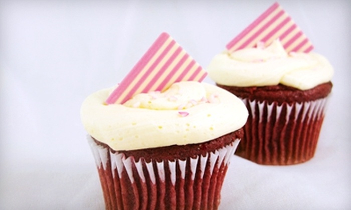 QFC - Multiple Locations: Gourmet Cupcakes at QFC. Two Options Available.