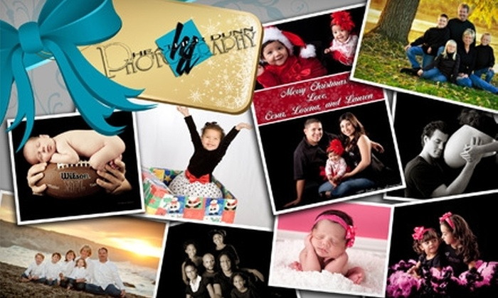 """Heather Dunn Photography - Fresno: $49 for a One-Hour Photo Session, DVD Slide Show, 11""""x14"""" Print, and Either Holiday Cards or Additional Prints from Heather Dunn Photography"""