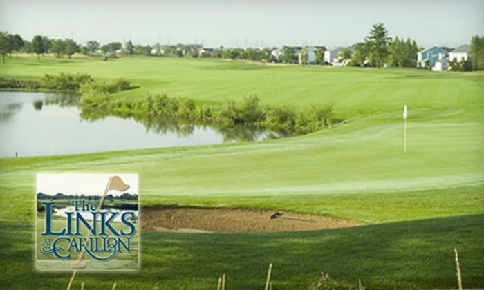 The Links at Carillon - Lockport: $50 for 18-Hole Round of Golf for Two People, Plus Cart, at The Links at Carillon (Up to $100 Value)