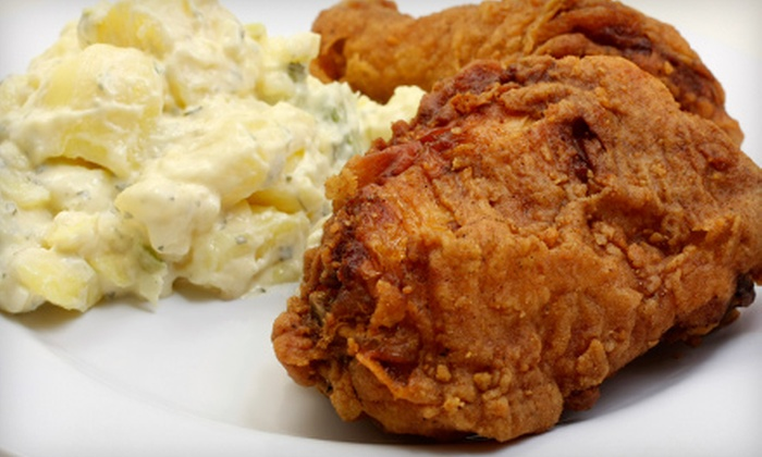 Cajun Moon Catering - Mid-City: $60 for a 10-Person Party Package from Cajun Moon Catering ($125 Value)