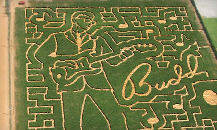 At'l Do Farms - Lubbock: Corn Maize Admission for Two or Four at At'l Do Farms
