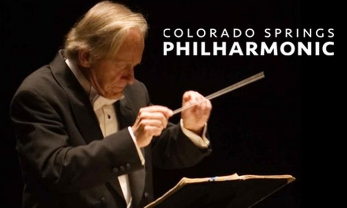 Colorado Springs Philharmonic - Downtown Colorado Springs: $20 to See One of Six Special Performances by the Colorado Springs Philharmonic at Pikes Peak Center (Up to a $45 value).