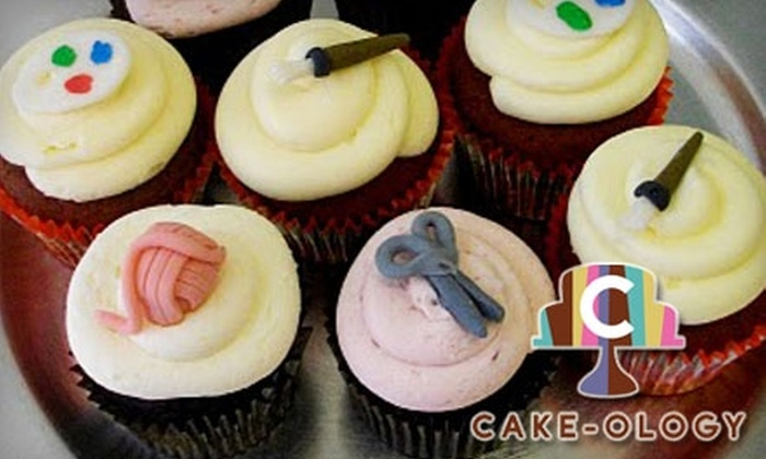 Cake-ology - Downtown Winnipeg: $12 for One Dozen Cupcakes at Cake-ology ($24 Value)