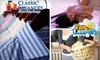 Classic Cleaners Tan & Laundry - Central Indianapolis: $15 for $35 Worth of Dry Cleaning, UV and Air Brush Tanning, and Laundry at Classic Cleaners Tan & Laundry
