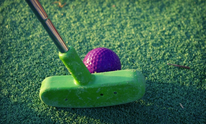 Golden Ridge Golf - Richmond Hill: Mini-Golf Outing for Four or Eight at Golden Ridge Golf in Richmond Hill (Up to 55% Off)