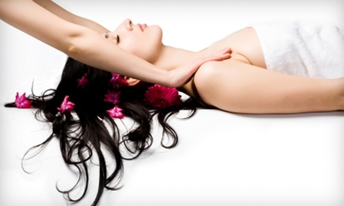 Essential Living Massage and Spa - Meadowlark: $65 for Massage and Manicure or Pedicure at Essential Living Massage and Spa in Fort Collins