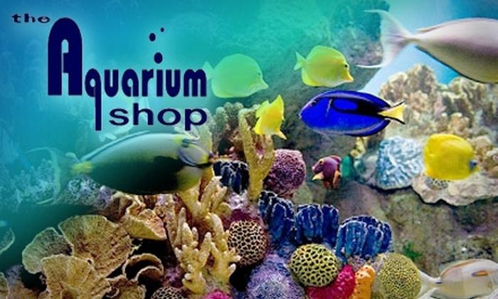 The Aquarium Shop - Royal Oak: $10 for $25 Worth of Pet Fish and Other Supplies at The Aquarium Shop