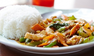 Thai Gourmet Restaurant: $12 for $20 forThai Dinner Cuisine at Thai Gourmet Restaurant