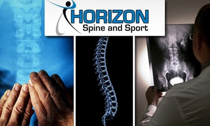 Horizon Spine and Sport - Green Valley Ranch: $39 for a 30-Minute Heated Jade Massage, Exam, and X-rays from Horizon Spine and Sport