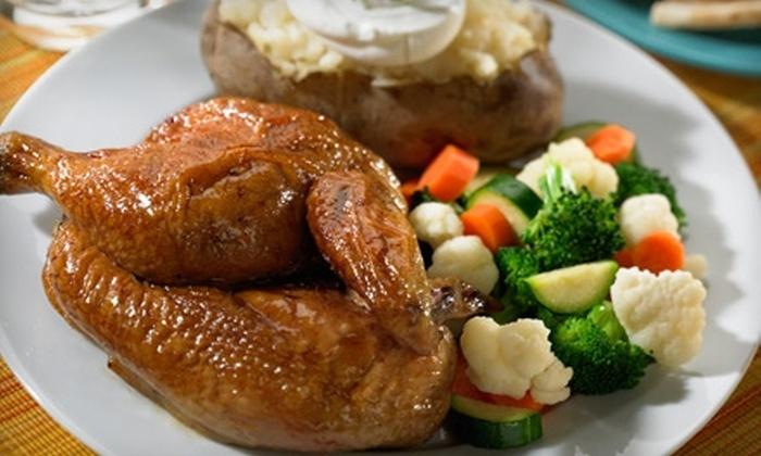 Chicken Dijon Rotisserie & Grill - Multiple Locations: $5 for $10 Worth of Mediterranean Fare at Chicken Dijon Rotisserie & Grill