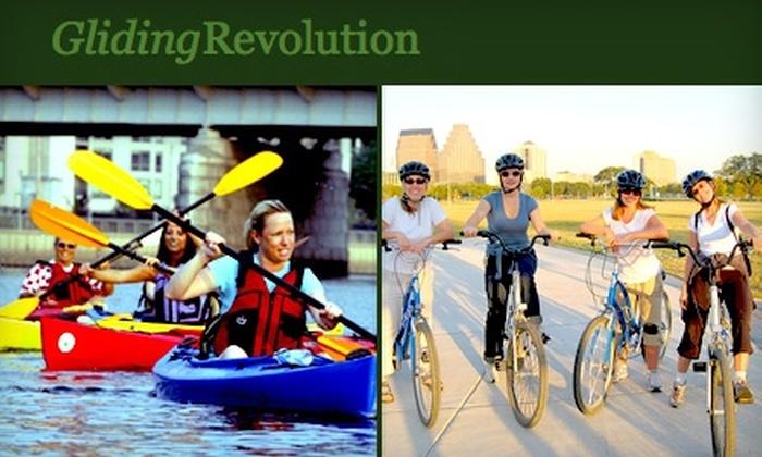 Gliding Revolution - Austin: $25 for $50 Toward Bike, Kayak, or Segway Tour or Rental from Gliding Revolution