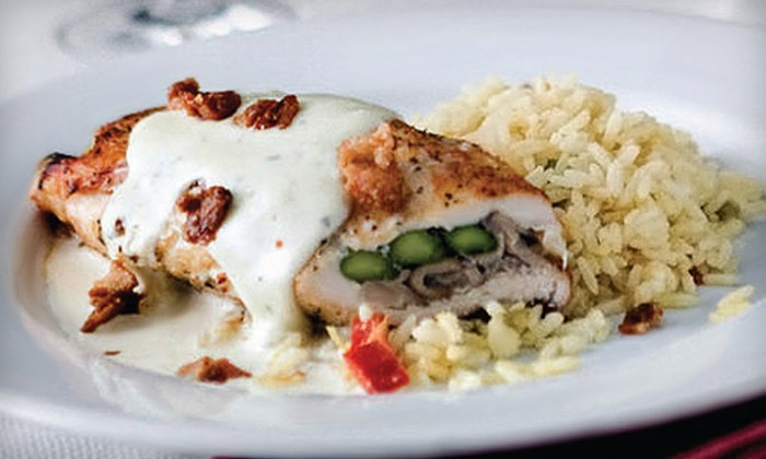 Pipers Cafe - Indianapolis: $15 for $30 Worth of American Bistro Fare and Drinks for Dinner at Pipers Cafe