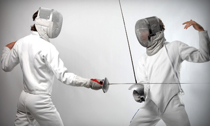 Salle D'Escrime - Lindon: $29 for Four 90-Minute Introductory Fencing Lessons with Equipment Rental at Salle D'Escrime ($80 Value)