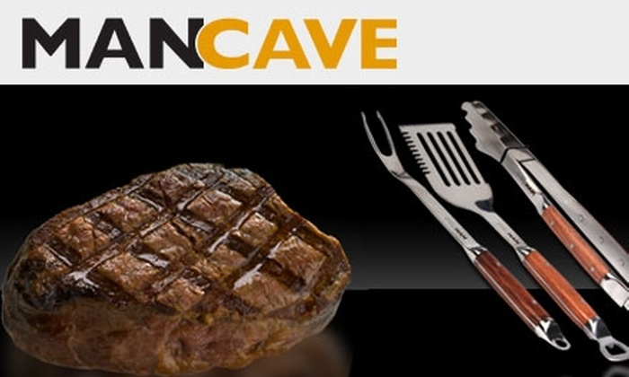 Man Cave Worldwide: $29 for $61 Worth of Meat, Apparel, and Other Manly Products from Man Cave Worldwide
