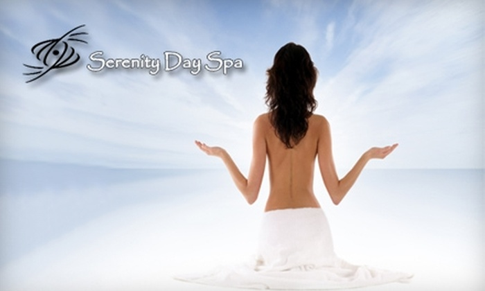 Serenity Day Spa - Ozark: $40 for a Shellac Mani-Pedi (Up to $80 Value) or $50 for a Custom Facial and Gold Mask (Up to $120 Value) at Serenity Day Spa
