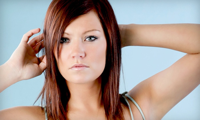 Color & Shapes - Dunnellon: Haircut PackageHaircut-and-Highlights Package at Colors & Shapes in Dunnellon (Up to 58% Off)