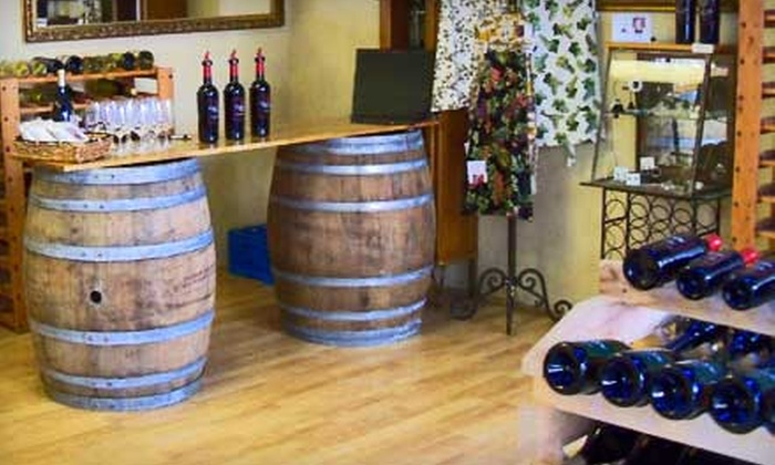 Sherman Cellars - Downtown San Jose: $25 for Wine-and-Chocolate Pairing for Two and $25 Toward a Bottle of Wine at Sherman Cellars ($55 Value)