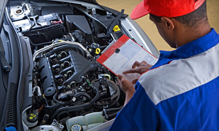 A & J Automotive Repair and Fleet Services - Southeastern Sacramento: Car Safety and Brake Inspections at A & J Automotive Repair and Fleet Services (Up to 66% Off). Two Options Available.
