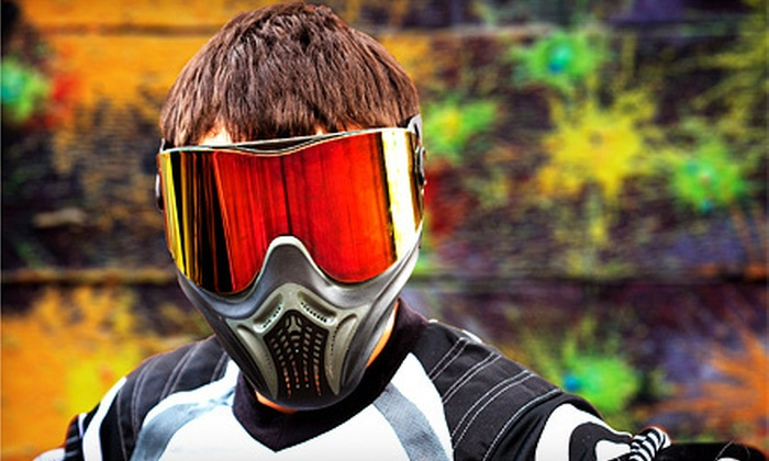 Fun on the Run Paintball Park - Fort Worth : Kids' SplatMaster Paintball for One, Two, Four, or Eight at Fun on the Run Paintball Park (Up to 57% Off)