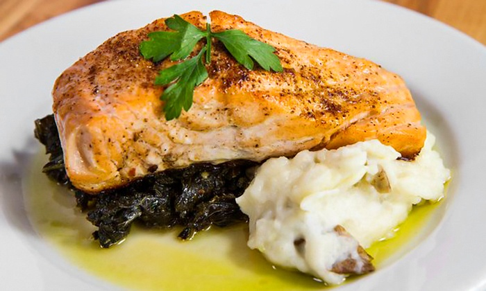 Rustik Tavern - Bedford - Stuyvesant: New American Lunch or Dinner for Two or Four at Rustik Tavern (Up to 48% Off)