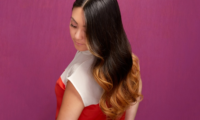 Cassie at Cameo Salon - Rountree Area: Haircut and Eyebrow Wax with Optional Partial or Full Highlights from Cassie at Cameo Salon (Up to 63% Off)
