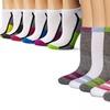 Steve Madden Women's Athletic Ankle Socks (12-Pair)