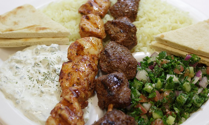 Greek Kouzina - Pittsboro: Greek Food at Greek Kouzina (Up to 44% Off). Three Options Available.